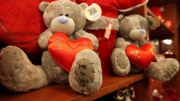 Peluche por San Valentín