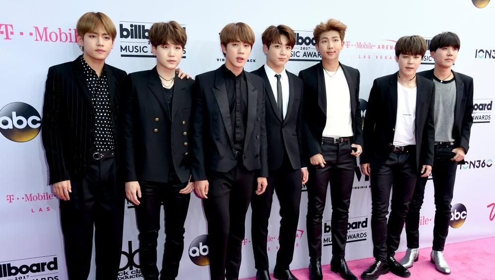 El grupo BTS