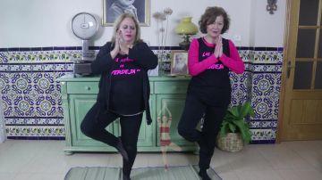 Clase de Yoga y Zumba con Carmina Barrios