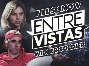 Widler Soldier y Neus Snow se enfrentan a las 'Entre Vistas' de AuronPlay