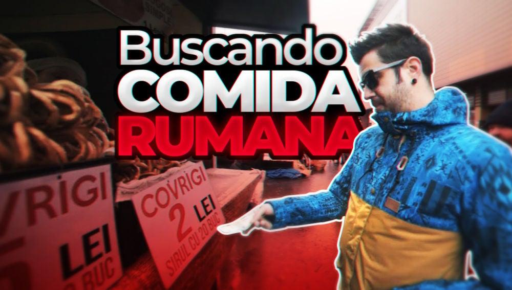 AuronPlay en Rumanía - Buscando Comida Rumana