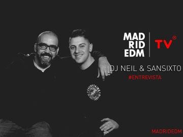 Dj Neil entrevista a SANSIXTO en Madrid EDM