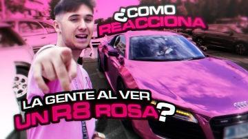 Flooxer | SQUAD - ¿Cómo reacciona la gente al ver un R8 rosa?