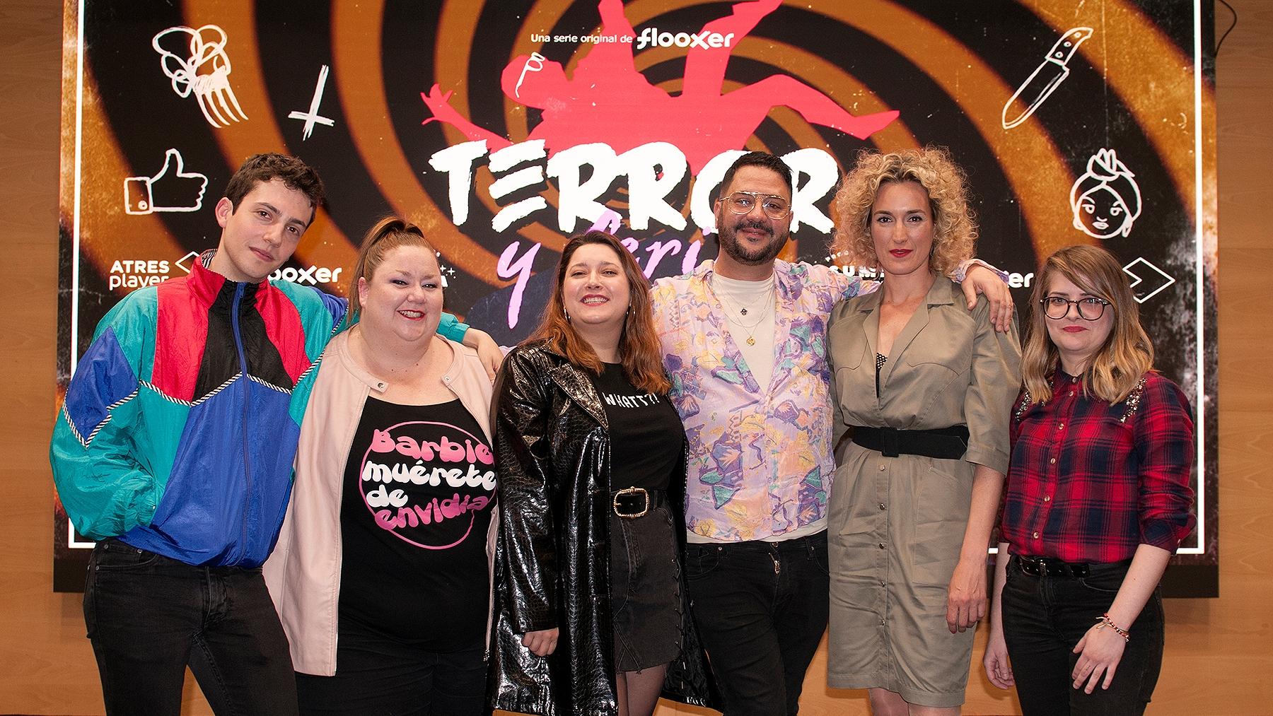 Parte del elenco de Terror y Feria