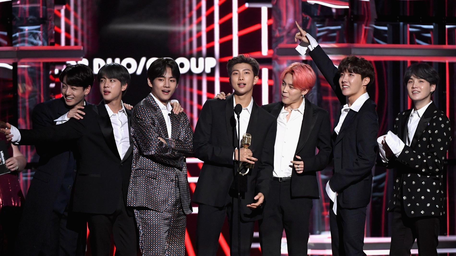 BTS en los Billboard Music Awards