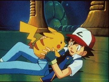 Ash y Pikachu, de Pokémon