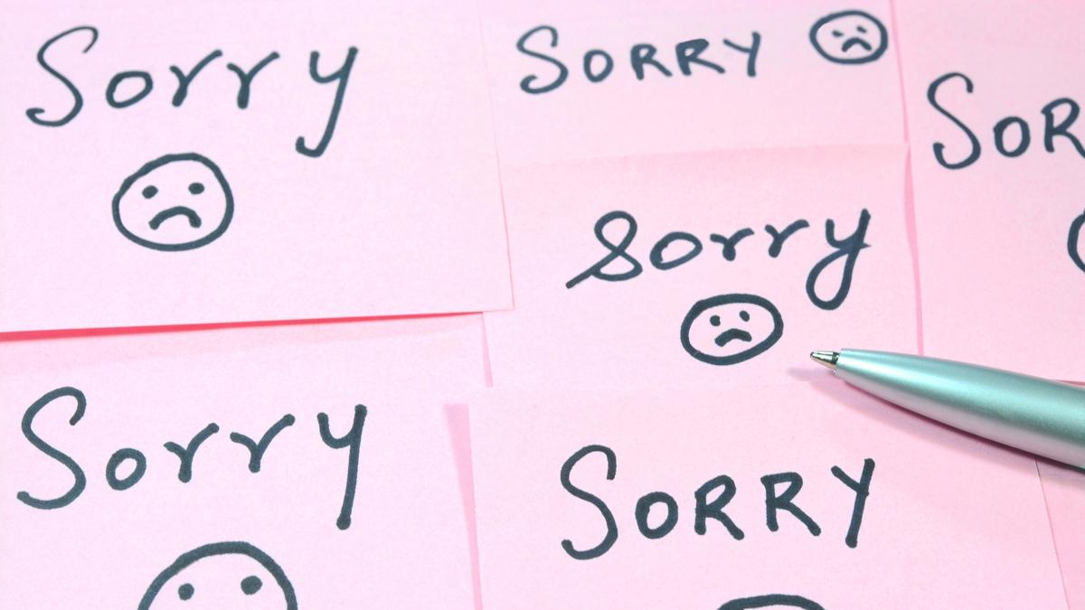Formas de pedir perdón