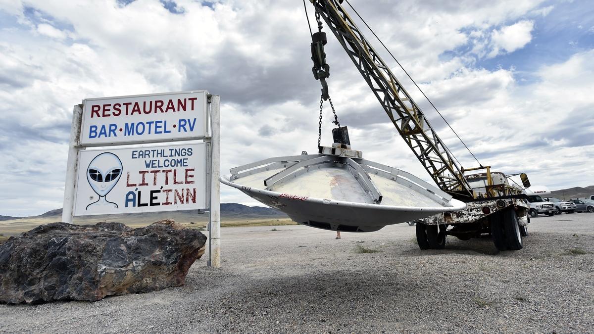 El Área 51 se encuentra en el sur de Nevada