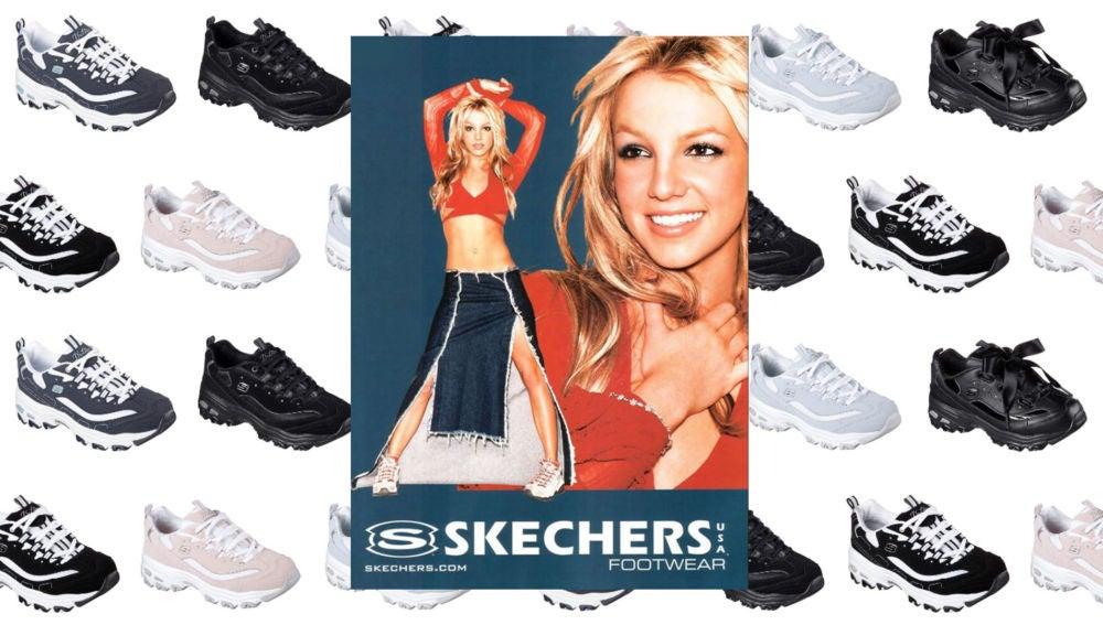 Jabeth Wilson Analgésico Otros lugares  Las Skechers que puso de moda Britney Spears un 'must' para tu armario