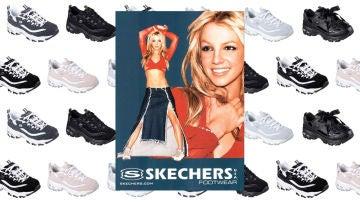 amenaza Te mejorarás Colectivo  Las Skechers que puso de moda Britney Spears un 'must' para tu armario