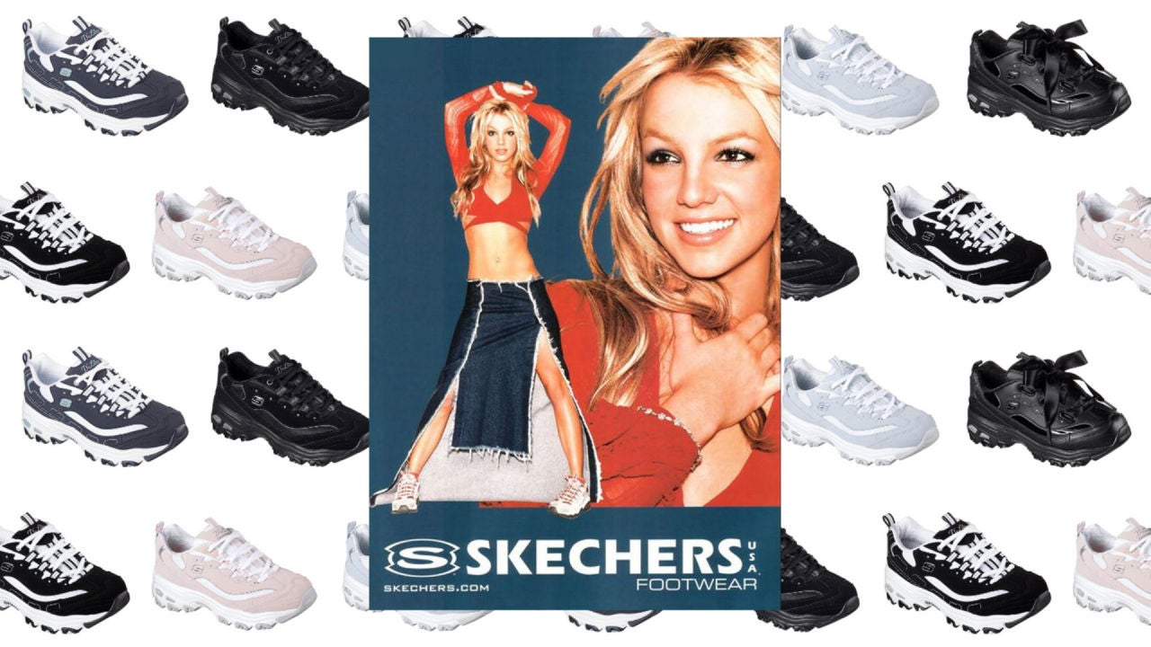 Tiempos antiguos Disparo Negar  Las Skechers que puso de moda Britney Spears un 'must' para tu armario