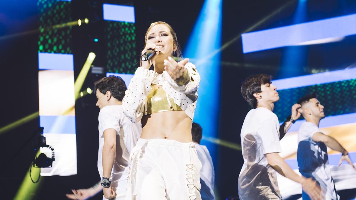 Ana Mena, en concierto
