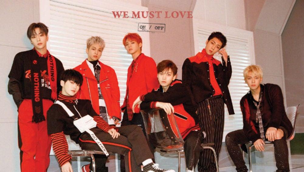 Portada de We Must Love, álbum de ONF
