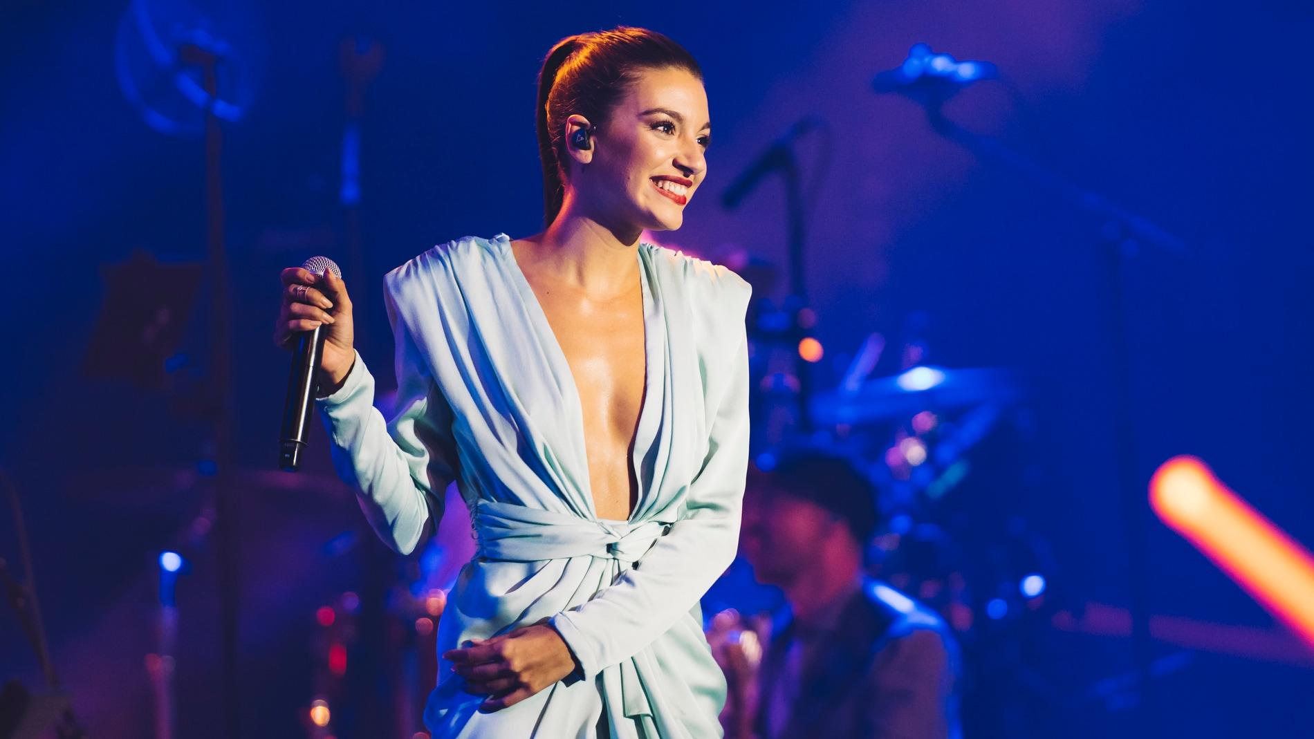 Ana Guerra en concierto.