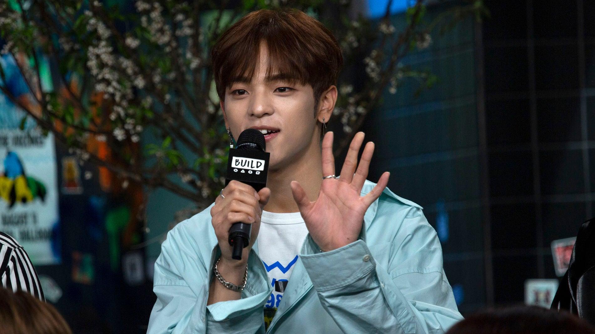 Woojin, cantante de Stray Kids