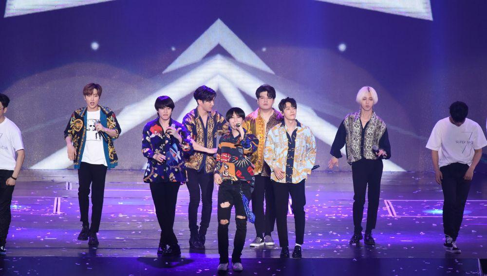 """Super Junior en el concierto """"SUPER SHOW 7"""" de Taiwán"""