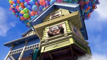 La casa volante de Up, en una imagen promocional