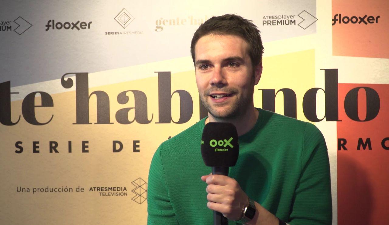 Álvaro Carmona explica el motivo de lanzarse a grabar una segunda temporada de 'Gente hablando'