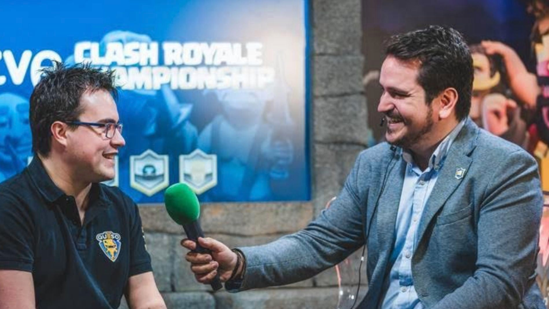 Charly Nighter entrevistando a Alvaro845