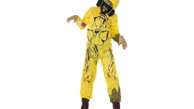 Disfraz de agente contra el coronavirus