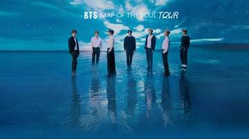 Cartel de la gira de BTS para 2020