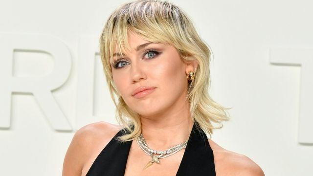 Miley Cyrus en una de sus últimas apariciones públicas