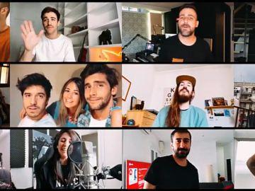 l homenaje a Pau Donés de David Otero, Álvaro Soler, Carlos Sadness, Arnau Griso y muchos más con 'Grita'