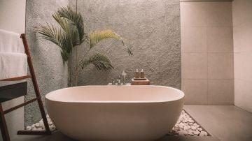 Bañera parecida a la que tiene Jonan Wiergo en su casa