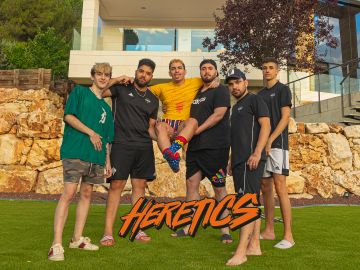 Los habitantes de la sensacional 'gaming house' de Team Heretics