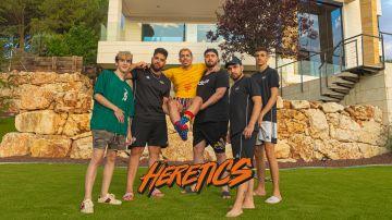 Los habitantes de la sensacional 'gaming house' de Team Heretics