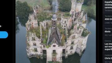 El castillo de Mothe-Chandeniers