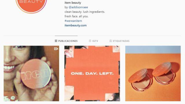 'Item Beauty' la marca de maquillaje de Addison Rae