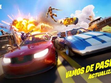 Fortnite incluye los coches