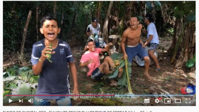 Fundo de Quintal en YouTube