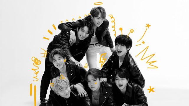 BTS en una imagen promocional