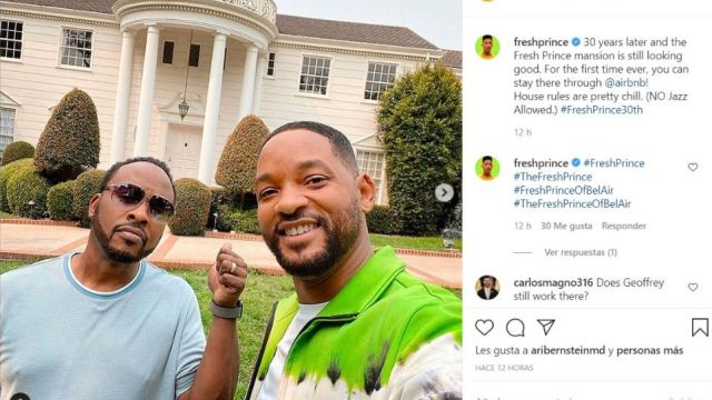 Will Smith alquila la mansión de 'El Príncipe de Bel Air'