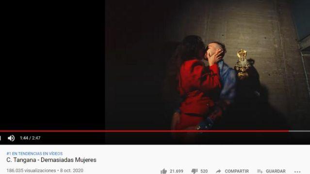 C. Tangana en su nuevo videoclip