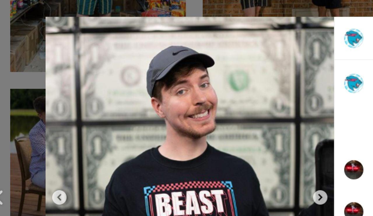 El youtuber más generoso