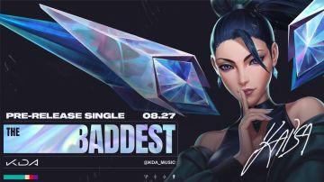 Portada de The Baddest, el single que salió este verano