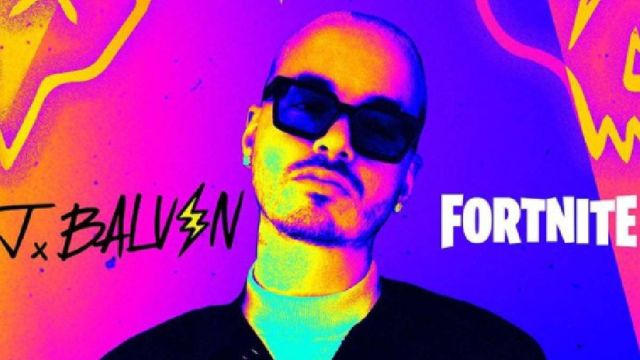 J Balvin, una estrella también en Fortnite