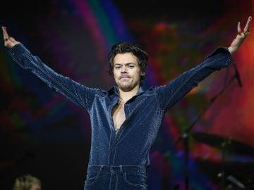 Harry Styles durante un concierto
