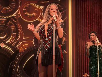 Ariana Grande, Mariah Carey y Jennifer Hudson se unen en 'Oh Santa!'