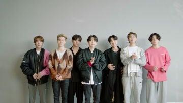 BTS en los MTV EMA's 2020
