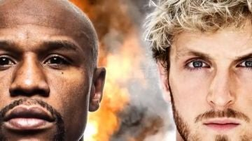 Floyd Mayweather y Logan Paul