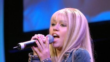 Miley Cyrus como Hannah Montana