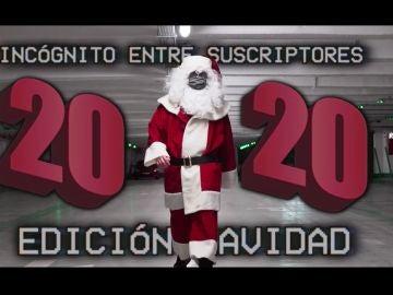 Papá Noel a lo youtuber