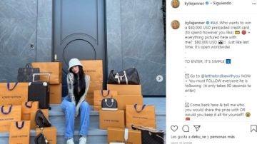Kylie Jenner y su concurso