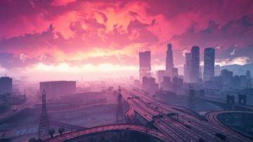 Imagen promocional de GTA V y Marbella Vice
