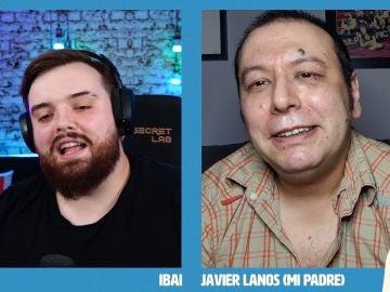 La primera vez que vemos a Javier Llanos