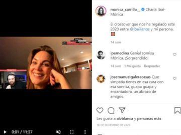 Ibai Llanos en streaming con Mónica Carrillo